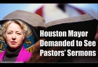 Stand for religious freedom against Houston's gay mayor!