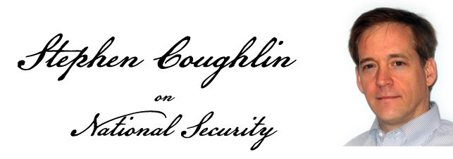 major coughlin thesis Editorial: the war at home: when will we open our eyes major coughlin's thesis must be read by everyone responsible for ensuring the safety of america.